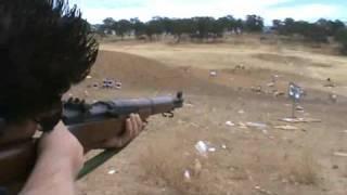 Me firing the M1 Garand.