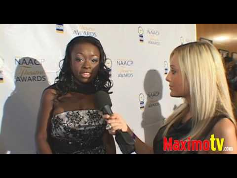 Rae'ven Larrymore Kelly  at the 19th Annual NAACP Theatre Awards