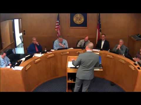 Macon County Commissioners Work Session Meeting 02-09-2018