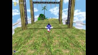 Sonic Adventure music/skin mod Part 1 1080p