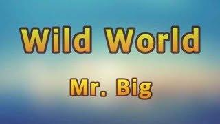 Mr. Big - Wild World(Lyrics)