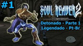 Detonado de Soul Reaver 2 - Parte 1 - Voltando para o passado - (Legendado Pt-Br)