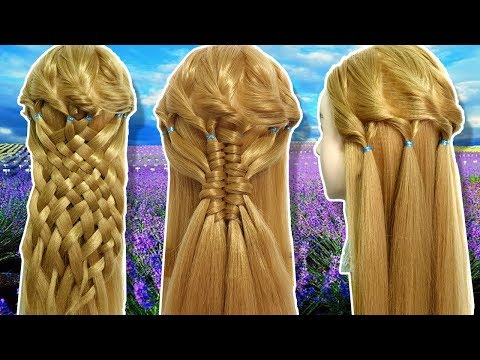 3 Beautiful Hairstyle for party/Function 🌿 Hair Style Girl 💞 Different Hairstyles for Party 2019 thumbnail