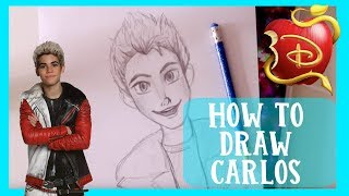 How to Draw CARLOS from Disney
