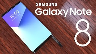 Samsung Galaxy Note 8 ,90% Accurate Design with 6.4inch 4K Infinity Display!!!
