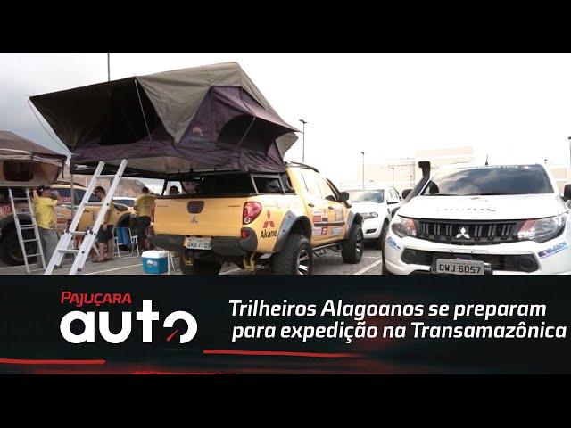 Grupo de Trilheiros Alagoanos se prepara para expedição na rodoviaTransamazônica
