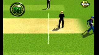 Brian Lara International Cricket 2005 - Game Footage