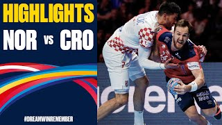 Norway vs. Croatia Highlights   Day 15   Men's EHF EURO 2020