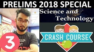 L3 CRASH COURSE SCIENCE AND TECHNOLOGY CURRENT AFFAIRS FOR UPSC PRELIMS 2018 HINDI STUDY IAS PT 365