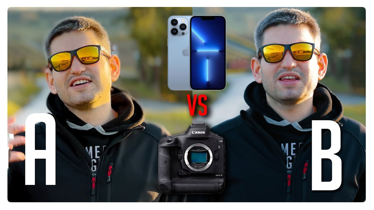 iPhone 13 Pro vs $6000 Pro Camera - Can you see the difference? Video-Quality-Comparison