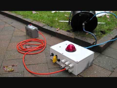 carbidkanon elektrische ontsteking test youtube
