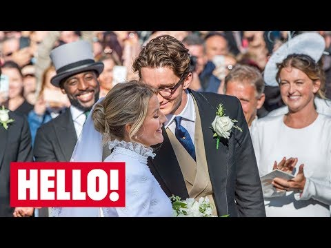 Ellie Goulding jets away on romantic honeymoon with Caspar Jopling