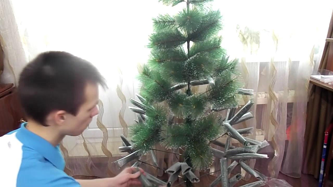 Купить в Спб искусственную елку • Народ встречаем Новый год - YouTube