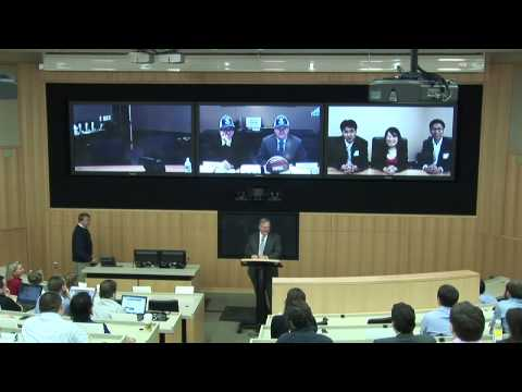 Introductions to the Duke University and Cisco Systems Telepresence Launch