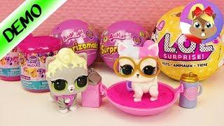 Otwieramy kulki niespodzianki! LOL Surprise, My Little Pony