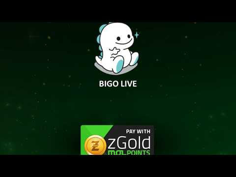 Bigo Live: Top-up with zGold-MOLPoints