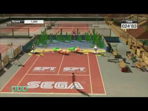 Virtua Tennis 2009 Mini-Games Gameplay (HD)