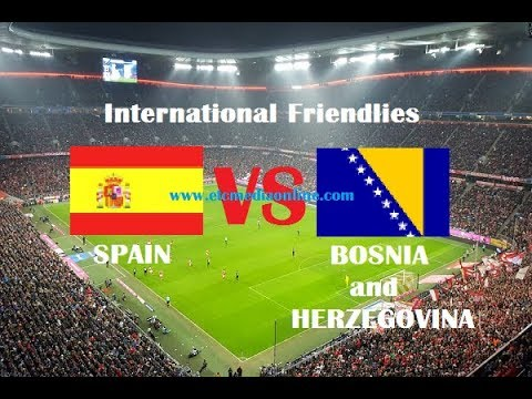 🔴 Spain vs Bosnia and Herzegovina Live 18.11.2018 🔴 International Match