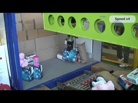 RobLog - Autonomous Robot for Container Unloading - Final Advanced domenstration