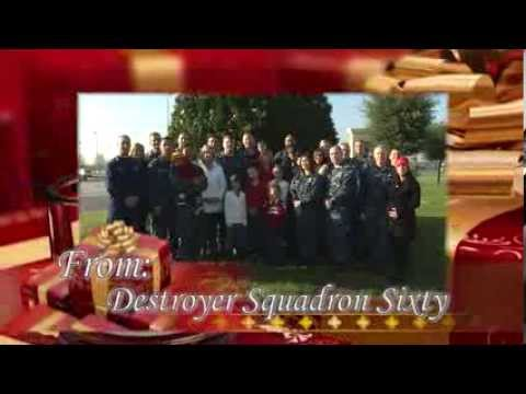 Destroyer Squadron 60 Holiday Greetings