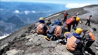 Escalando o Vulcão Villarrica - Pucón - Chile