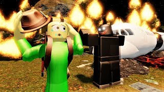 THE WHOLE FOREST IS ON FIRE BALDI!! | Roblox Camping: Vacation [Story]
