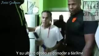(6ix9ine) Le cumple el sueño a niño salvadoreño con cáncer cerebral