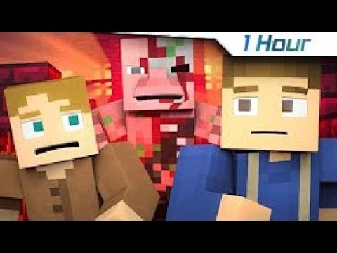 """[1 Hour] ♪ """"Won't Let Go"""" - A Minecraft Music Video/Song ♪"""