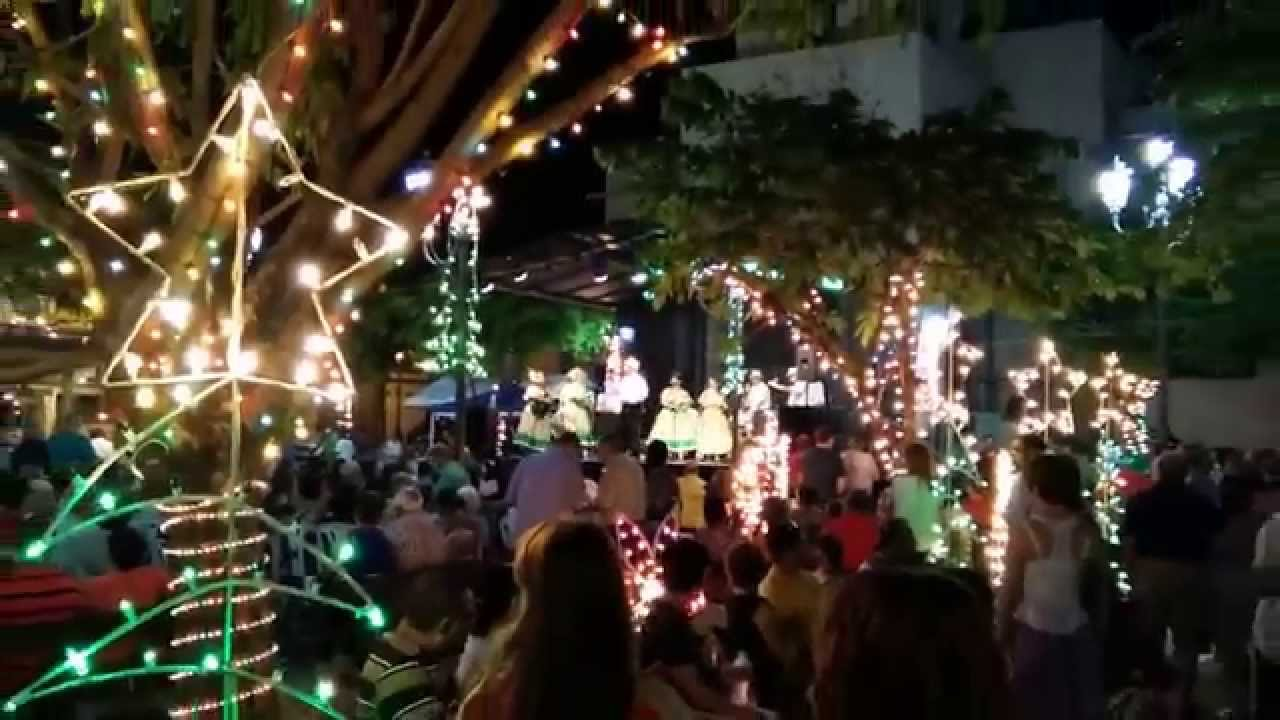 Puerto Rico Christmas Tradition.Christmas Festival In Rincon Pr