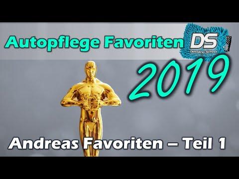 Autopflege Favoriten 2019 - Dr.Wachs Edition - Diese Produkte haben Andreas  überzeugt! Teil 1