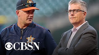 Astros fire GM and manager over sign stealing scandal