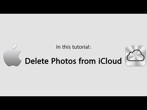 How do i delete photos from icloud on iphone 6