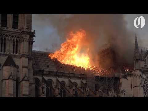 Houston's Morning News - Scenes from Notre Dame Cathedral fire in Paris