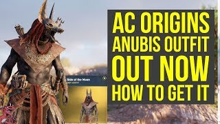 Assassin's Creed Origins Anubis Outfit OUT NOW - HOW TO GET IT (AC Origins Anubis Outfit)