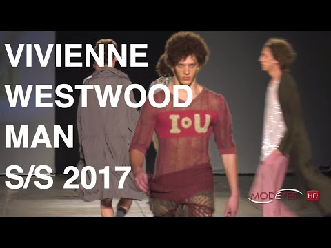 VIVIENNE WESTWOOD | MAN SUMMER 2017 | BACKSTAGE + FASHION SHOW | EXCLUSIVE