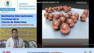 SFCM 15/16 9: MATERIALES NANOESTRUCTURADOS FABRICADOS POR MÉTODOS FÍSICOS