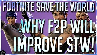 FORTNITE STW: HOW FREE-TO-PLAY CAN CHANGE STW FOR THE BETTER [SAVE THE WORLD FREE TO PLAY LAUNCH]