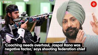 'Coaching Needs Overhaul, Jaspal Rana Was Negative Factor,' Says Shooting Federation Chief