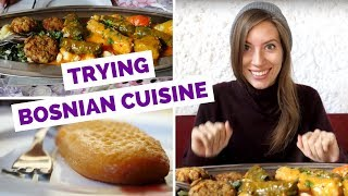 Bosnian Cuisine - Trying Traditional Dishes in Mostar, Bosnia and Herzegovina