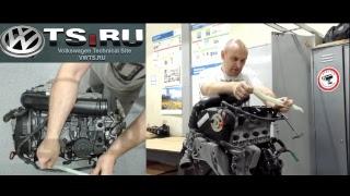 CDAB 1.8TSI сборка двигателя