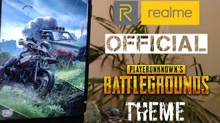 Realme Official PUBG Theme | All Realme Smartphones🔥