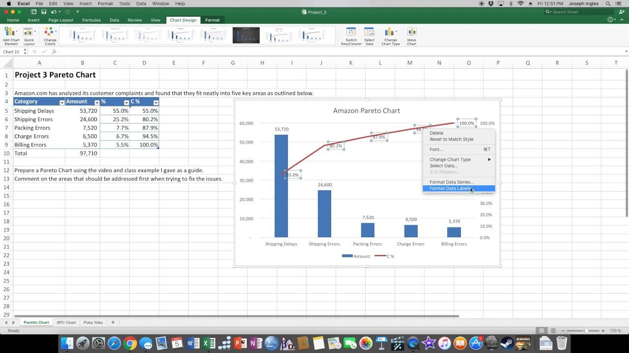 Pareto chart youtube pareto chart geenschuldenfo Image collections