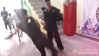 Morning Practice in Ranjit Mix Martial Arts & Self defense Academy at Lal Kuan, Ghaziabad