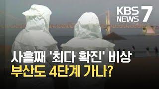 부산 사흘째 확진자수 '최다'…방역·보건현장 비상 / …