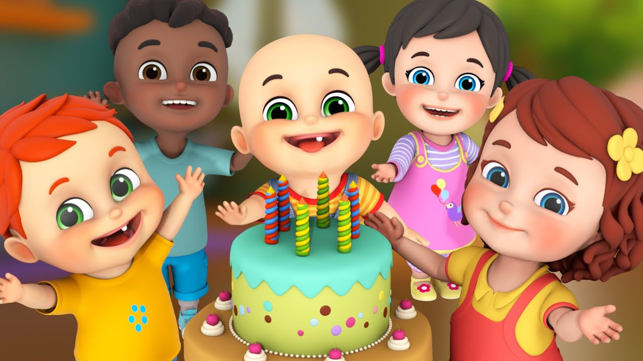 1607e26af Happy Birthday Song - Party Song - Birthday Wishes - Nursery Rhymes  Collection from Jugnu Kids