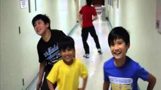 Harvey Bautista Gangnam Style- Part 2 ( with Nash, Andre, Alexa & Izzy)