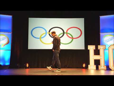 Kenneth Egan OLY -  Public Speaking  (failure, motivation, perseverance, the journey)