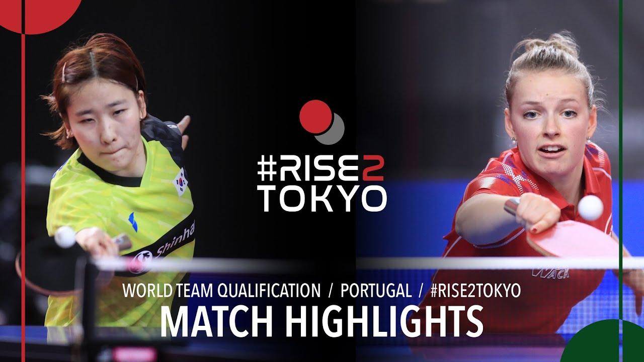 Download Lee Eunhye vs Marie Migot | 2020 World Team Qualification (Final)