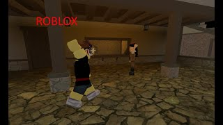 I stayed at a hotel in Roblox!