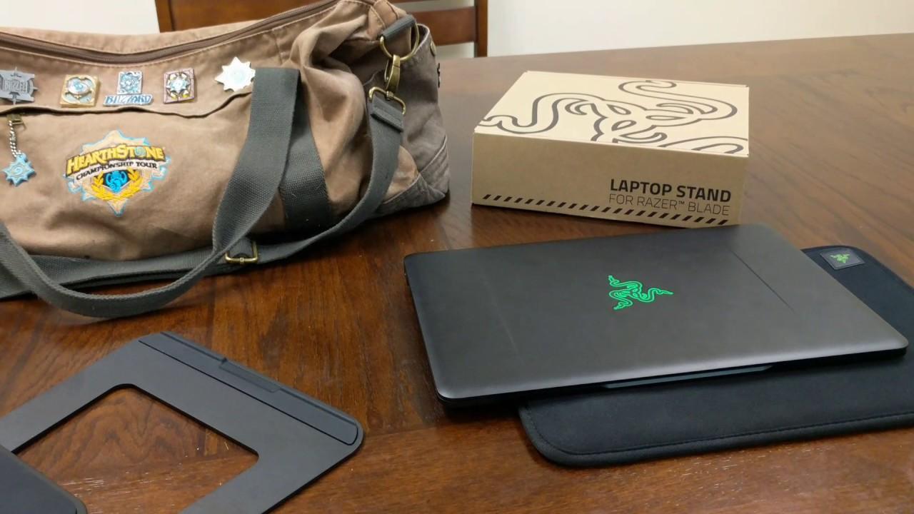 Razer Blade Stealth Laptop Stand Youtube